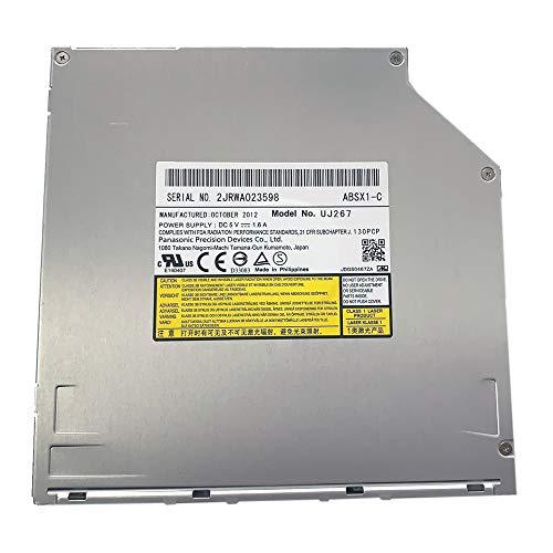 UJ267 UJ-267 9.5mm SATA Slot-in 6X 3D Blu-ray Burner BD RW Drive for MacBook Pro Dell Alienware M14x XPS 14z 15z and Sony Vpcz1 Vpcz117gg Laptops