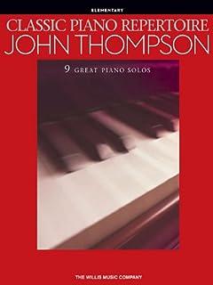 Classic Piano Repertoire (Elementary Level)