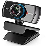 1080P Webcam for Streaming,Angetube 920 PC Web Camera Calling Video Recording Cam for Windows Mac Conferencing Gaming Xbox Skype OBS Twitch Xsplit GoReact with Microphone & 100-Degree View Angle