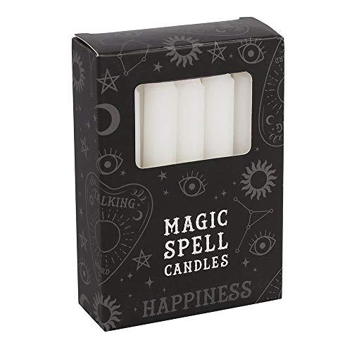 Min velas Zen con efecto mágico anti hechizos. Rojo, morado, verde, blanco, negro y amarillo. Duración: 1 hora. Rituales y ceremonias. Colores mágicos.