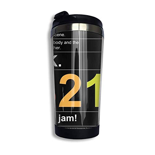 DJNGN Kaffee Reisebecher Tasse Edelstahl Tarzan ~ Tarzan & Jane Coffee Travel Mug Cup Stainless Steel Vacuum Insulated Tumbler 13.5 Oz