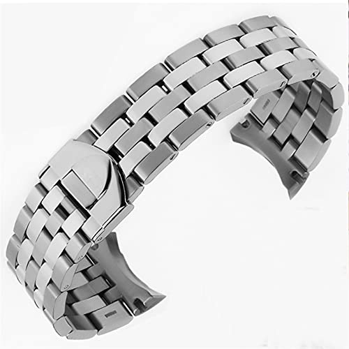 LCISCOUP Correa Reloj Reloj Accesorios 20 21mm de Acero Inoxidable de Acero Inoxidable Reloj de muñequera Reloj de Reloj de Reloj de Reloj de Reloj de Reloj de Reloj. Pulsera