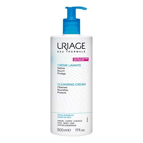 Uriage 1st Crema de limpieza para el cuero cabelludo de la cara 500 ml