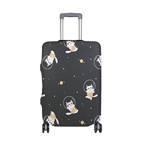 Kofferabdeckung Astronaut Katze, sehr leicht, für 45,7-81,3 cm