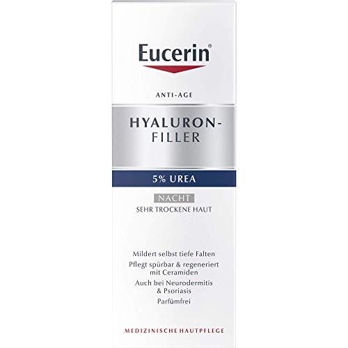 Eucerin Hyaluron-Filler 5% Urea Nacht Creme, 50 ml
