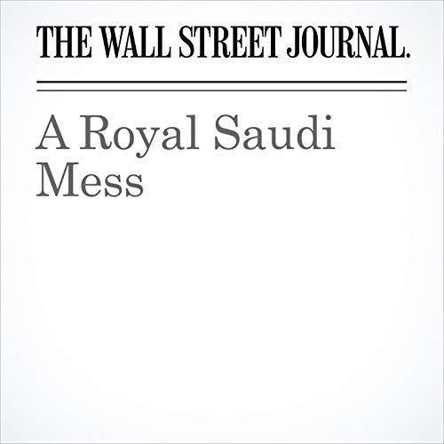 A Royal Saudi Mess copertina