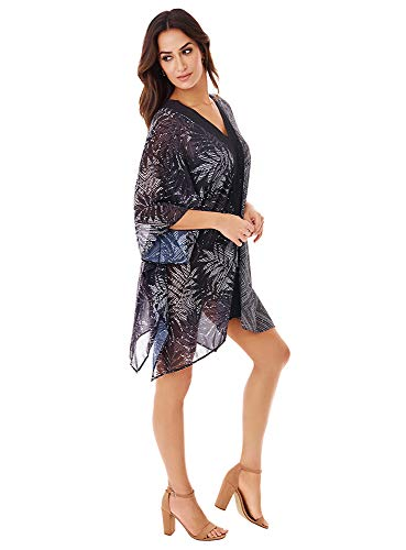 Miraclesuit - Traje de baño para mujer (crochet, sin caftán) -  Negro -  Medium