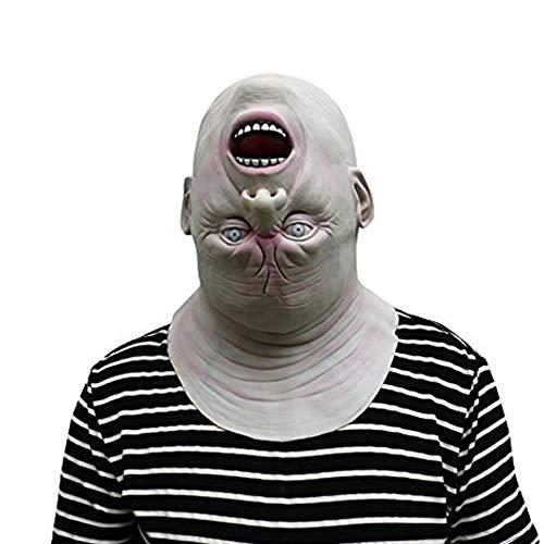 Stunning Down Spinning Down Mask - Perfecto para Carnaval, Carnaval y Halloween - Disfraz de Adulto - Latex, unisexo