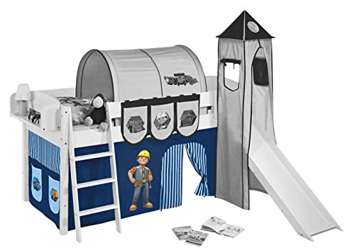 Vorhang Bob der Baumeister - für Hochbett, Spielbett und Etagenbett