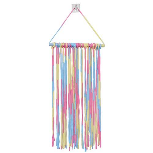 Baby Hair Clips Holder Fringe Hairpins Storage Belt Barrette Organizer Hair Bows Hanger for Children Girls Boutique (Colorful)