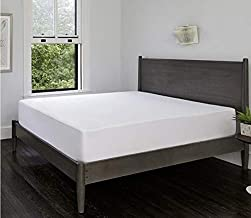 IBed Home Cotton Waterproof Mattress Protector, Size 200x200+30 CM (White)
