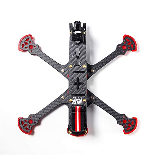 HGLRC Sector 5 V3 Freestyle Frame 5 Inch for DJI Air Unit FPV Racing Drone Compatible with 5.8G VTX and