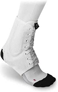 McDavid Classic Logo 199 CL Level 3 Ankle Brace / Lace-up W/ Stays White X-Small