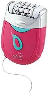 Emjoi eRase e60 Dual Opposed Heads 60-Disc 2-in-1 Electric Epilator Tweezer with Shaver/Trimmer...