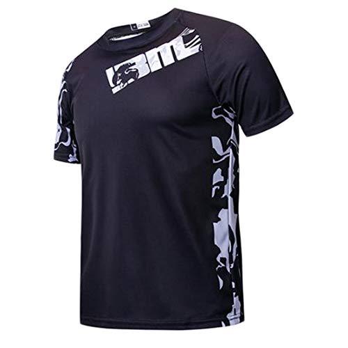 Camisa de Bicicleta de Manga Corta para Hombre Camisa de Manga Corta de MTB Camiseta de Manga Corta de Motocross