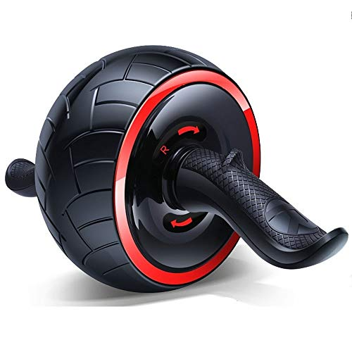 AB Roller Fitness, Self-Retractable AB Carver Pro, Workout AB Wiel Perfect Wheel Trainer for Man Vrouw Bodybuilding Gymnastiek Home Gym (Color : A)
