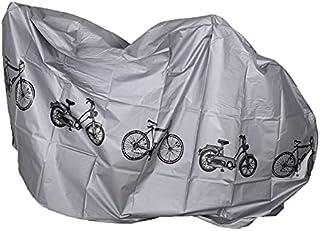 Tree-fr-Life Gris Moto Vélo Moto Couvre Poussière Imperméable À l'eau Extérieur Intérieur Pluie Protecteur Couverture Mant...