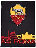 AS Roma Plaid in Pile, 100% Poliestere, One Size