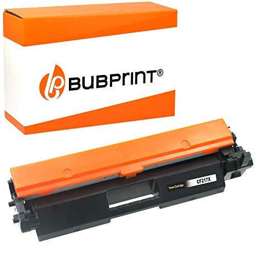 Bubprint XXL Cartucho Tóner Compatible para HP CF217X CF217A CF 217 X 17A 17X para Laserjet Pro M102 M102A M102W M130 M130A M130NW M130FW M130FN Negro 6,000 páginas