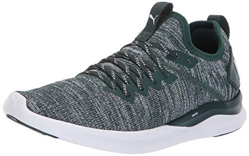 PUMA Women's Ignite Flash Evoknit Sneaker, Ponderosa Pine, 7 M US