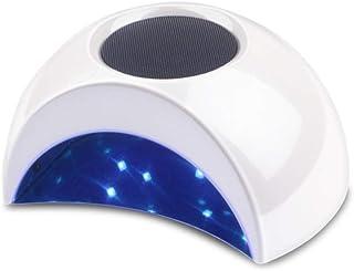 Inteligente 36W Nail Secadora Purificador Aire UV LED Lámpara La Máquina 2 Ventiladores Secado Del Polaco Del Gel 4 Calendario De Uñas De Arte Salon
