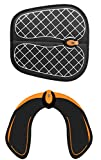 MIAOGOU Estimulador Muscular Entrenamiento 2pcs / Set EMS Wireless Hips Foot Wasit Trainer Remote Electric Abdominal Becerro Estimulador Muscular Body Fitness Feet Relax Massager Foot Mat