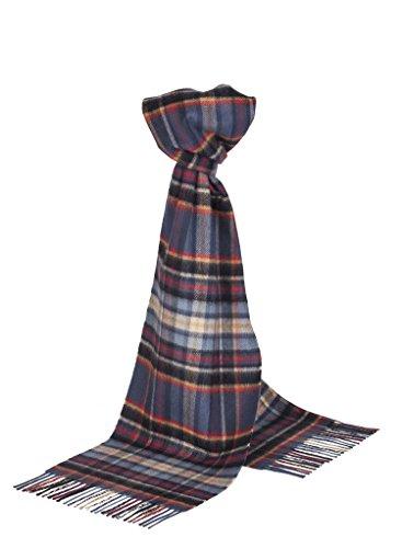 Johnstons of Elgin–Pure Kaschmir Schal–Scottish Tartan Gr. Einheitsgröße, Heldon