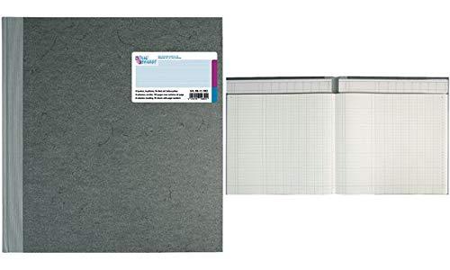 König & Ebhardt 8611082 Geschäftsbuch / Spaltenbuch (27,7x29,7cm, mit Kopfleiste, 8 Spalten, 32 Zeilen, 80g/m², 96 Blatt Fadenheftung mit Seitenzahl)
