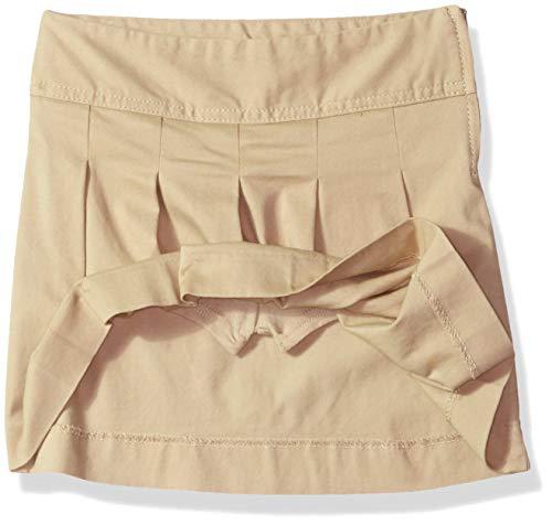 The Children's Place Big Girls' Uniform Skort, Sandy, 6X/7
