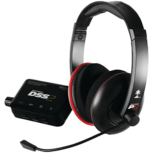 Turtle Beach - Ear Force DP11 Gaming Headset - Dolby Surround Sound - PS3