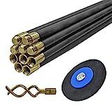 Faithfull DRSET12 - Cable desatascador de tuberías (10 unidades)