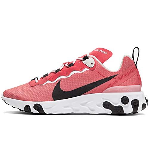 Nike React Element 55 Se Ci3831-800 - Zapatillas deportivas para hombre, Naranja (Brumber Glow/Negro claro hueso-blanco), 41 EU
