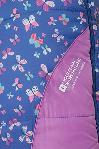 Mountain Warehouse Saco de Dormir Estampado Apex Mini Morado Talla única