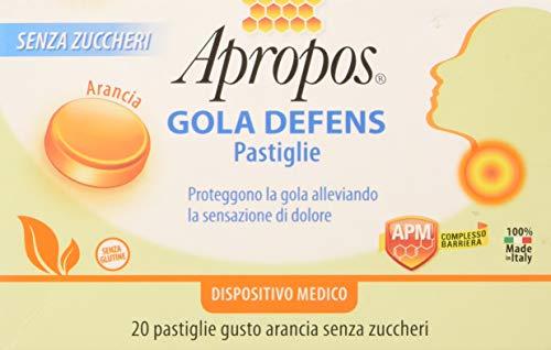 Desa Pharma 20522 Apropos Gola Defens, Arancia - 20 Compresse, 50 g