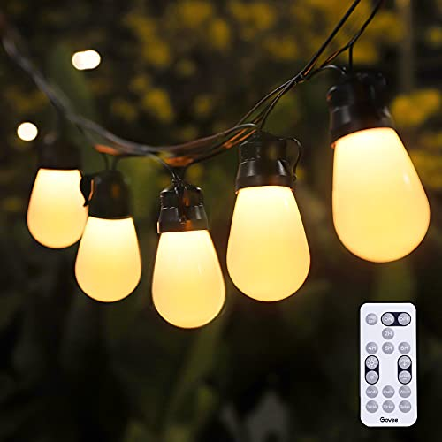 Govee 48FT Outdoor String Lights, Shatterproof Remote Patio...
