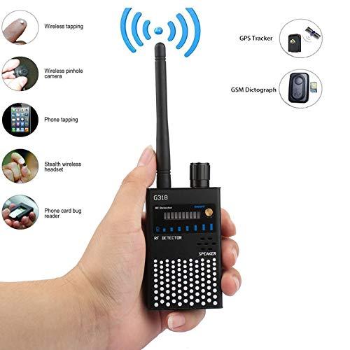 Drahtloser Kamera Detektor,Signal Detektor Frequenz Scanner für Erkennen Funkwellen,RF Bug Camera,2G,3G,4G Handy SIM Kartenfehler.