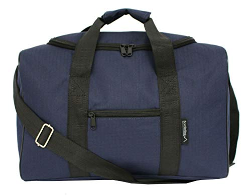 Ryanair Small Cabin Carry On Flight Travel Hand Luggage Bag Approved 35x20x20cm (Black)