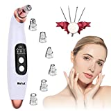Blackhead Remover Pore Vacuum with 6 Probes,Microdermabrasion Blackhead Extractor Tool,Electric Blackhead Removal Vacuum Cleaner