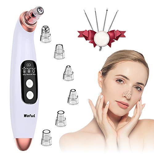 Blackhead Remover Pore Vacuum with 6 Probes, Microdermabrasion Blackhead Extractor Tool (Blackhead Remover)