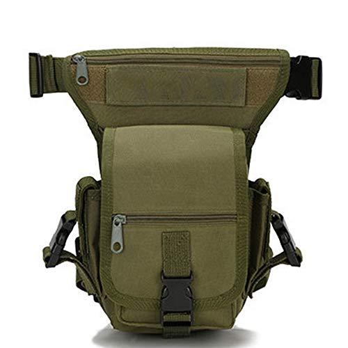 JIAGU Zaino da Pesca Pesca Durable Bag Borsone Tackle Sacchetti di Immagazzinaggio Multifunzionale Outdoor Sports Bag (Color : CP Camouflage, Size : S)