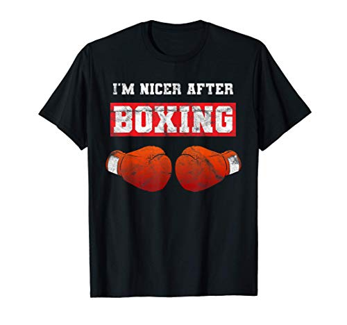 I'm Nicer After Boxing Boxen Workout...