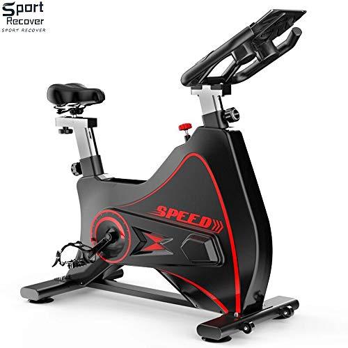 Bicicleta de spinning para el hogar Equipo de gimnasio Interior Bicicleta dinámica con todo incluido bajar de peso Bicicleta de pedal deportivo Posición de conducción ajustable APLICACIÓN inteligente