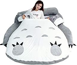 Tatami Mattress My Neighbor Totoro Cartoon Lazy Sofa Bed Sleeping for Children Lovely Creative Dormitory Mattress Foldable...