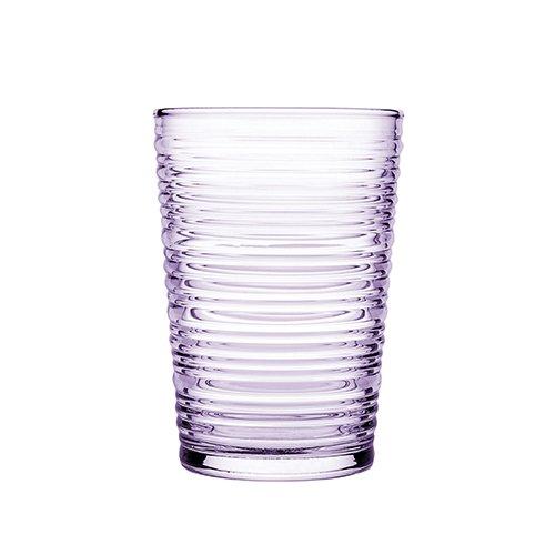 Pasabahce Vaso de agua y zumo (290 ml, 3 unidades), color morado