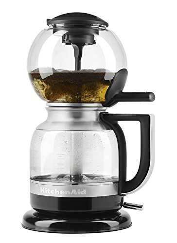 The KitchenAid Coffee Siphon and its glass carafe