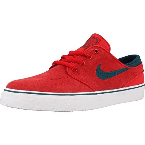 Nike Herren Stefan Janoski (gs) Skaterschuhe, Rojo (Rojo (University red/Midnight Turq-White), 36 EU