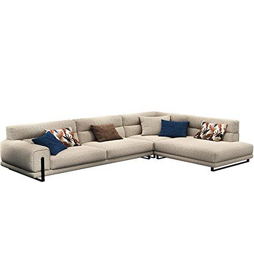 N-A Sofá de Tela Simple salón