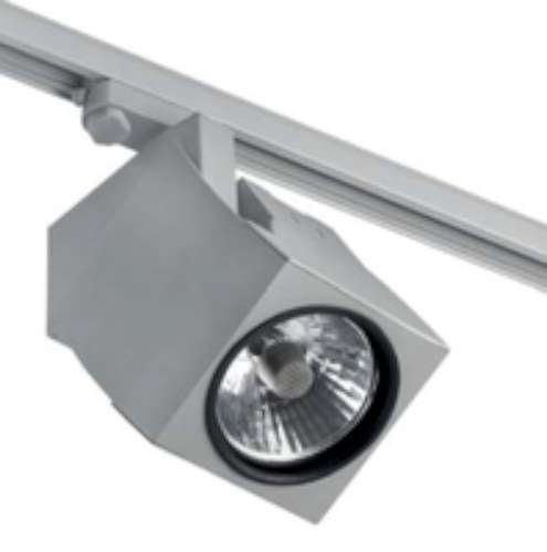 Projecteur Barcelona Fokus 01040701 projecteur 50e 70W aluminium Blanc