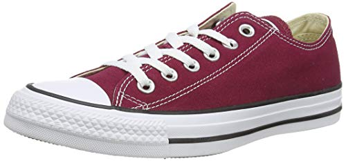 Converse Chuck Taylor All Star, Sneakers Unisex - Adulto, Rosso (Bordeaux), 38 EU