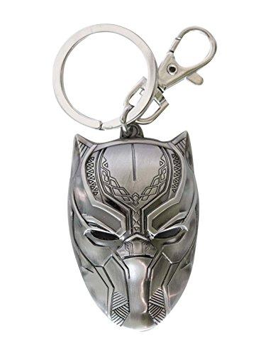 Metall-Schlüsselanhänger, Marvel–Black Panther, Lizenzprodukt 68669